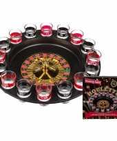 Drankspel drinkspel shot roulette 30 cm